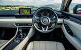 Mazda 6 165 Sport Nav 2018 UK first drive review - dashboard