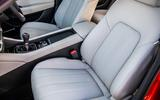 Mazda 6 165 Sport Nav 2018 UK first drive review - front seats