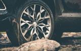 Aston Martin DBX 2020 prototype drive - alloys muddy