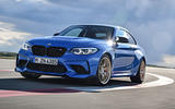 BMW CS 2020 official press images - on the road