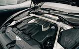 75 Ferrari Roma triple test 2021 Conti GT engine