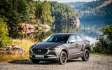 Mazda e-TPV prototype 2019 first drive review - static front