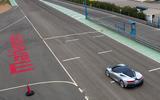 Pininfarina Battista customer preview event - track aerial