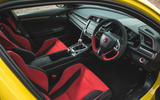 Britain's best affordable drivers car 2020 - Honda Civic Type R limited - interior