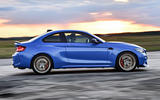 BMW CS 2020 official press images - on the road side