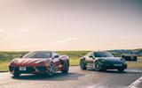 Corvette C8 vs Porsche 911 UK - static