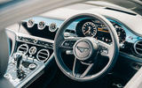 76 Ferrari Roma triple test 2021 bentley interior