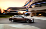 2021 Mercedes-Maybach S-Class official images - cornering side