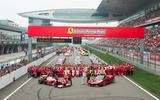 70 years of Formula One - Ferrari team