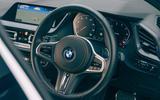 77 BBADC 2021 BMW steering wheel