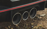 Britain's best affordable drivers car 2020 - Honda Civic Type R limited - exhausts