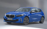 BMW 1 Series 2019 official reveal - studio front
