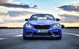 BMW CS 2020 official press images - on the road nose