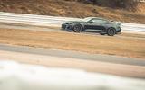 77 Camaro ZL1 vs Sutton Mustang 2021 Camaro tracking side