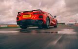 Corvette C8 vs Porsche 911 UK - Vette rear