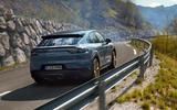 77 Porsche Cayenne GT 2021 official reveal road rear