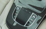 77 super estate triple test 2021 AMG centre console