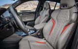 BMW X4M official press - seats