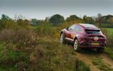 2020 Aston Martin DBX camouflaged prototype ride - hill