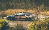 Aston Martin DBX 2020 prototype drive - wading side
