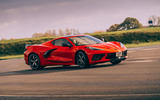 Corvette C8 vs Porsche 911 UK - Vette front