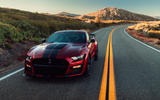 Ford Shelby Mustang GT500 official reveal - on the road