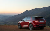 Land Rover Discovery Sport 2019 official reveal - static rear