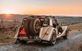 78 Morgan Plus Four CX T official reveal static rear