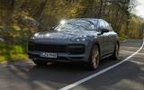 78 Porsche Cayenne GT 2021 official reveal road front