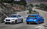 BMW 1 Series 2019 official reveal - base model and M in action
