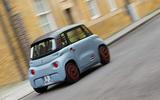 Citroen Ami (LHD) 2020 UK first drive review - London rear