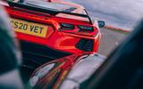 Corvette C8 vs Porsche 911 UK - Porsche chasing Vette