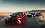 Ford Shelby Mustang GT500 official reveal - track driving