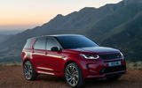 Land Rover Discovery Sport 2019 official reveal - static front