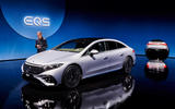 79 Mercedes EQS official reveal images notes