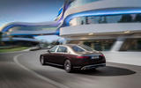 2021 Mercedes-Maybach S-Class official images - cornering rear
