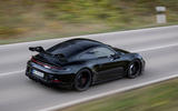 Porsche 911 GT3 2021 passenger ride - driving rear