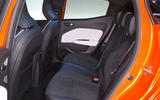 Renault Clio 2019 Autocar studio static - rear seats