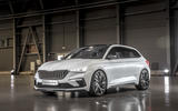 Skoda Vision RS concept drive - static