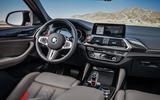 BMW X4M official press - cabin