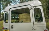 Defender hearse conversion - rear door