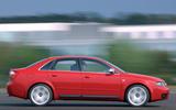 7 AudiUK00007748 The Audi S4 quattro