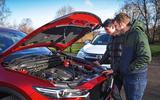 Hybrid mega-test - Mazda CX-5 engine