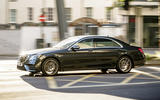 Mercedes-Benz S-Class - tracking side