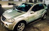 7 Mercedes M class