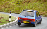 Peugeot 205 GTI - tracking rear