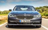BMW 730d LED headlights