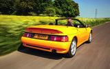 Lotus Elan S2 driving - rear