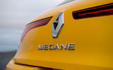 7Renault Megane RS 300 Trophy 2021 UK first drive review rear badge