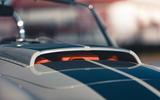 8 AC Cobra 378 Superblower MkIV 2021 UK first drive review bonnet scoop